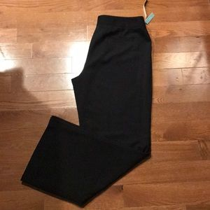 APT 9 black dress slacks Sz 16   Machine wash